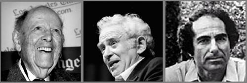 Herman Wouk, Norman Mailer, Philip Roth