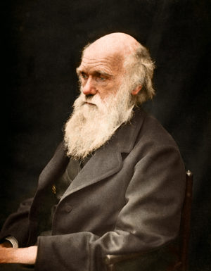 Charles Darwin opened the door to a full realization of a constantly-evolving universe.