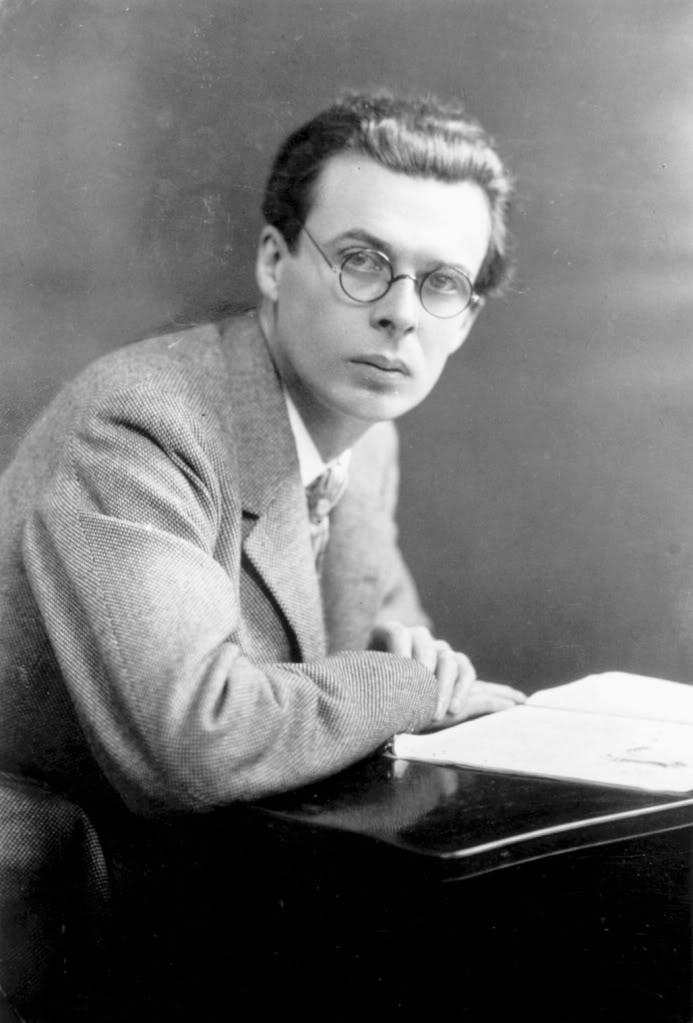 Aldous Huxley young
