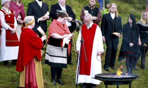 Iceland Norse God Ritual
