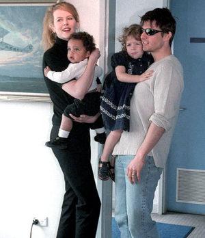 Tom-Cruise-Nicole-Kidman-Connor-Bella