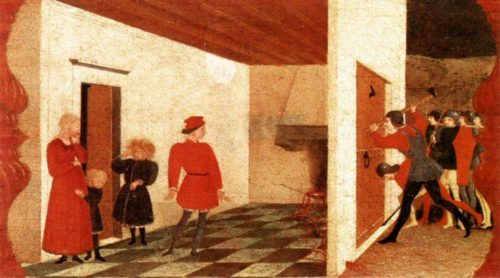 Paolo Uccello (1397-1475), Praedella of Profanation of the Host