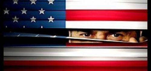 Peek Through Flag