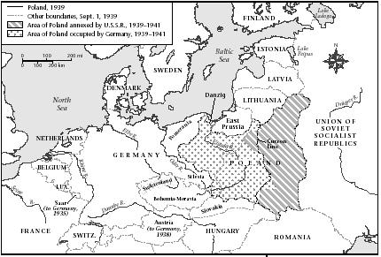 Poland with its 1939-1941 borders