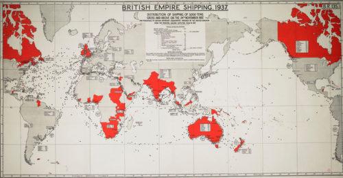 The British Empire in November 1937