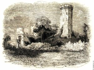 Guy's Tower, Warwick Castle in the West Midlands