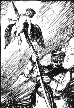 Typical anti-German propaganda: the Germans were the most honorable and righteous fighting force during WWI and WWII.