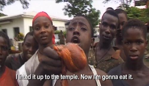 Liberian cannibals