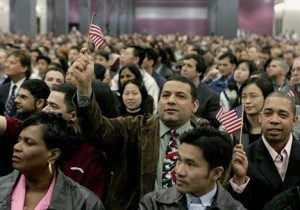 Legal formalities and hand-waving: a recent American naturalization ceremony