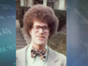David Tepper in his college days