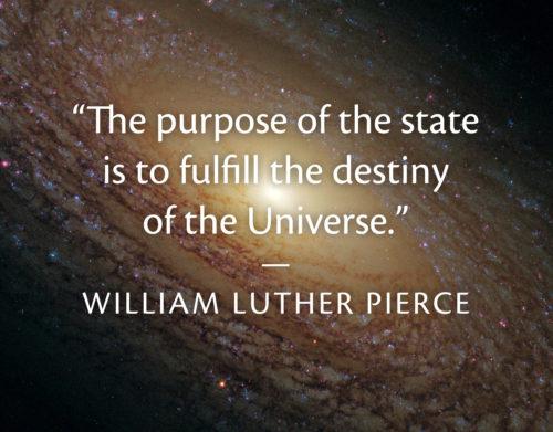purpose_of_the_state_william_pierce