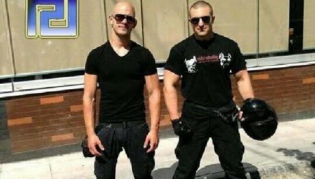 Mr Fountoulis and Manolis Kapelonis