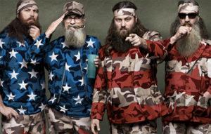 Duck Dynasty as US Flag