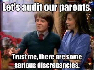 Let's Audit Our Parents-Alex P Keaton
