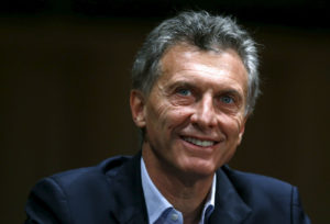 Argentina's president, Mauricio Macri