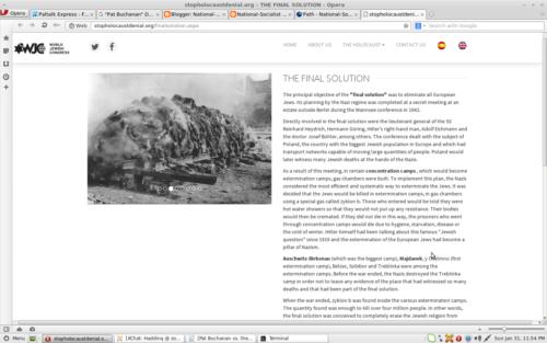 WJC Holocaust Fraud
