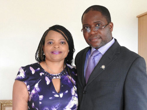 Sylvester Nyatsuro and his wife Veronica have been given a farm belonging to a family of white farmers in Zimbabwe