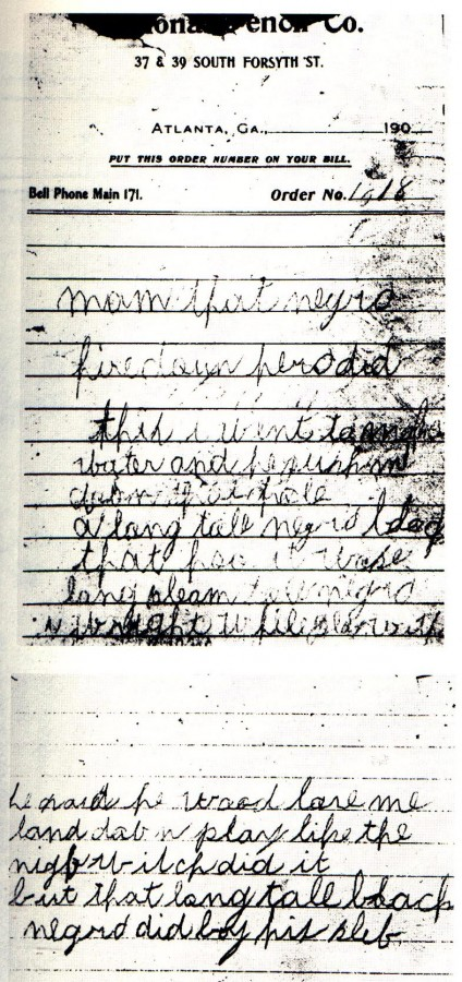 The mysterious death notes - click for high resolution