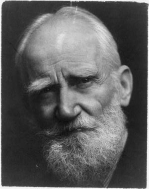 George Bernard Shaw, author of Man and Superman