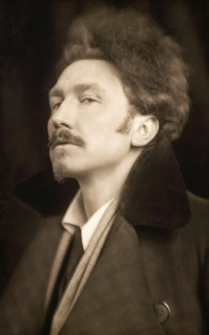 The young Ezra Pound
