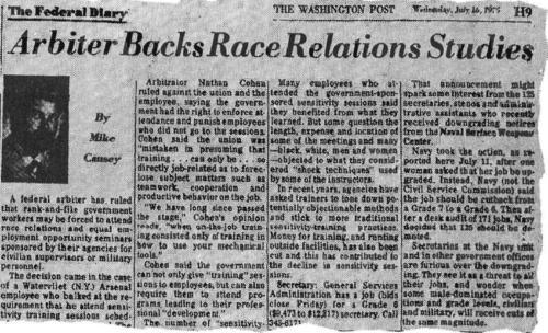 Race Relations Study