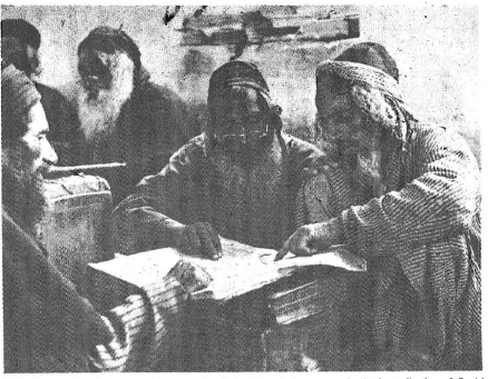 """Contemporary Israelis immersed in the study of the Talmud, the most authoritative collection of Jewish religious law. Blasphemous references to Jesus in the Talmud, now cheerfully acknowledged by Jews, have not been a bone of contention in """"ecumenical"""" discussions in which Jews and their fifth-columnists in the Christian clergy have attempted to tailor traditional Christian theology and liturgy to Jewish desires."""
