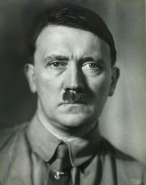 Adolf Hitler Studio Portrait
