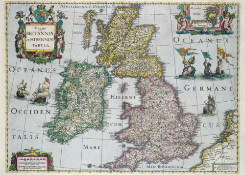 United Kingdom Antique Map