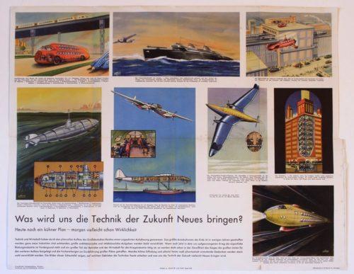 1941 Nazi Poster full paleo-future