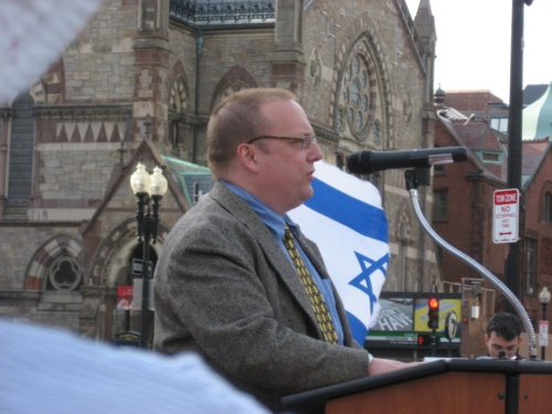 Dexter Van Zile: Jewish watchdog who makes a living accusing Gentiles of anti-Semitism.
