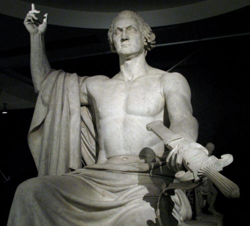 Washington as Zeus
