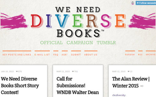 The We Need Diverse Books Tumblr