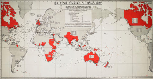 The British Empire in November 1937