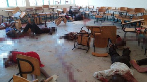 Muzzed image of Kenya massacre