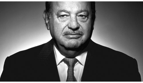 Lebanese-descended Mexican billionaire Carlos Slim