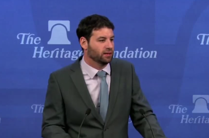 "Daniel Cohen of Israel's Institute for National Security Studies speaks to the US-based ""Heritage  Foundation"""