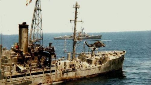 Destroyed USS Liberty