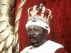 Emperor-for-life Jean-Bedel Bokassa