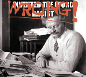 Trotsky racist wrong