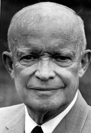 Dwight D. Eisenhower in 1954