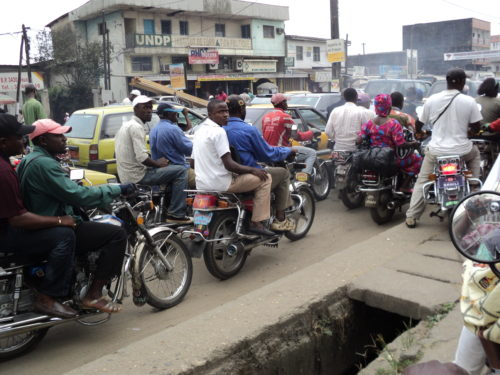 Traffic in Cameroon
