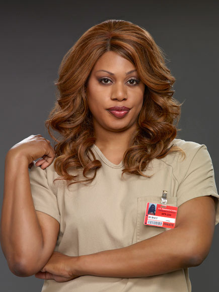 "Orange is the New Black has made black ""transsexual"" Laverne Cox a ""household name"""