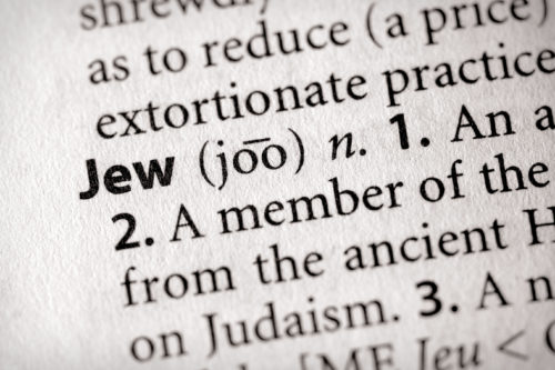 Dictionary Series - Religion: Jew