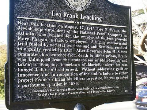 leo-frank-lynching-marker