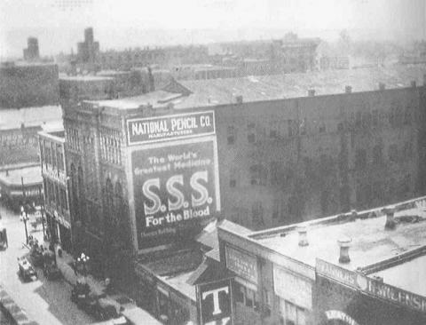 National Pencil Company at 37-41 South Forsyth Street, Atlanta