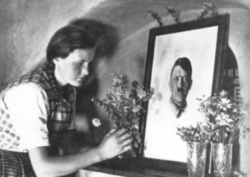 495.Hitler Deification Picture
