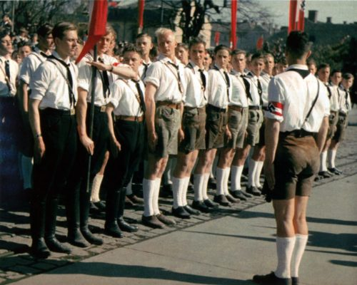 Hitler-Youth-At-Attention