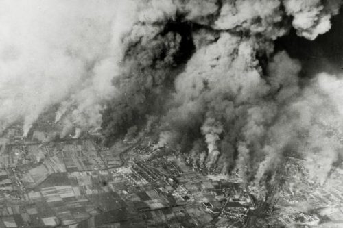 German cities filled with civilians were turned into infernos where more lost their lives than in Hiroshima and Nagasaki combined