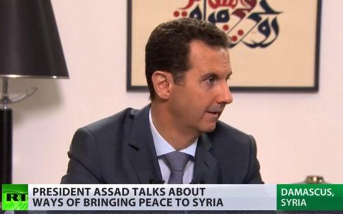 Assad-on-RT