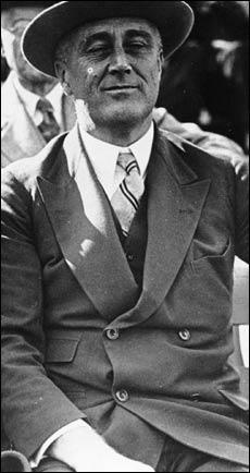 """Franklin Delano Roosevelt (""""FDR"""")"""